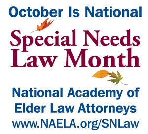Special Needs Law Month